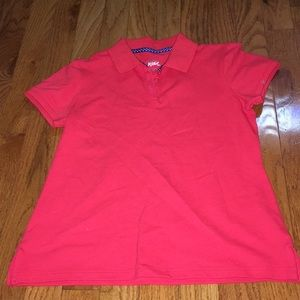 Girl short sleeve shirt with collar